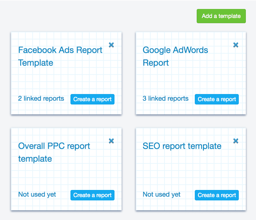 Dynamic Report Templates